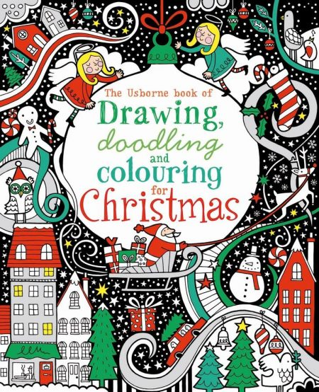 christmas themed gifts - Christmas drawing book