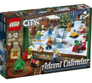 christmas themed gifts - LEGO City advent calendar