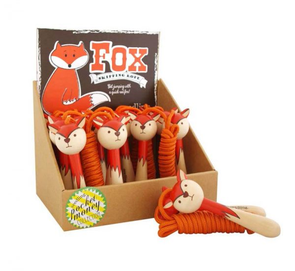 Four to six year old gift ideas - Fox skipping rope