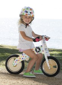 Four to six year old gift ideas - Kiddimoto dotty helmet