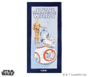 Four to six year old gift ideas - Star Wars Droid Beach Towel