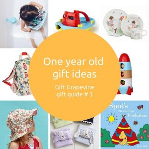 One year old gift ideas - Gift Grapevine gift guide 3
