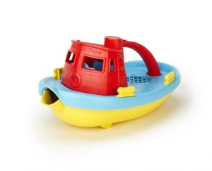 One year old gift ideas - green toys tugboat