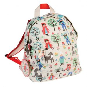 One year old gift ideas - red riding hood backpack