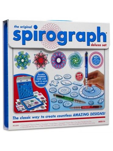 Seven to nine year old gift ideas - Spirograph deluxe kit