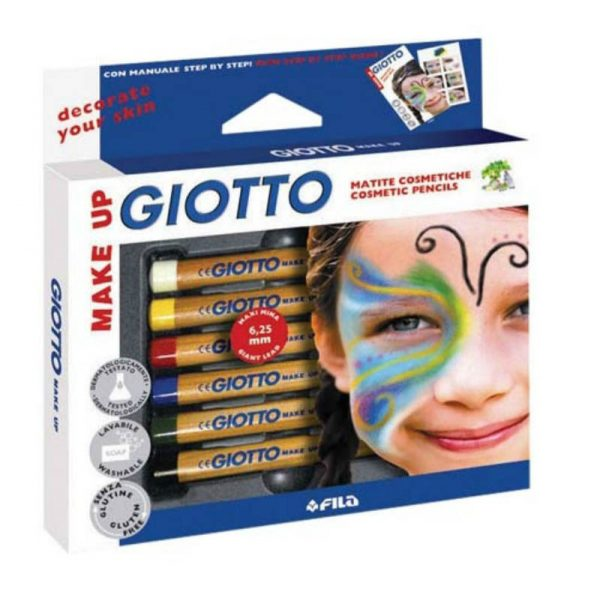 Seven to nine year old gift ideas - giotto make up pencils