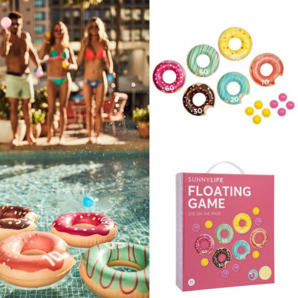 Seven to nine year old gift ideas - inflatable floating donut game