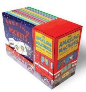 Three year old gift ideas - Amazing Machines pack