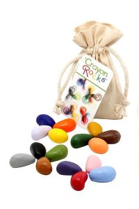 Three year old gift ideas - Crayon Rocks bag of 16