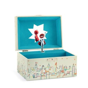 Three year old gift ideas - Mister Moon musical treasure box