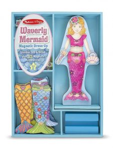 Three year old gift ideas - magnetic dress up mermaid
