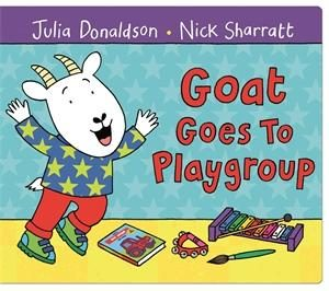 Two year old gift ideas - Goat goes to playgroup