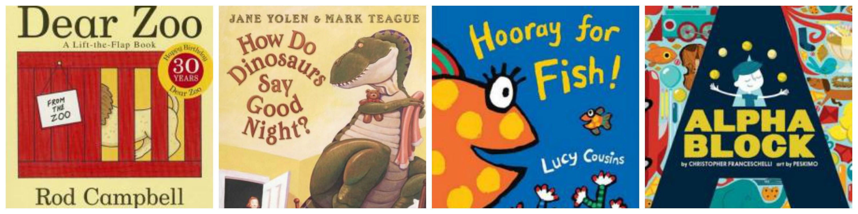 Great books for 0-2 year olds