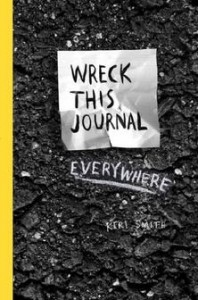 wreck with journal everywhere