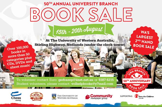 UWA-booksale