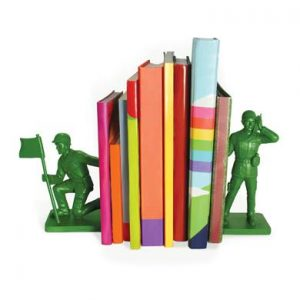 toy soldier bookends