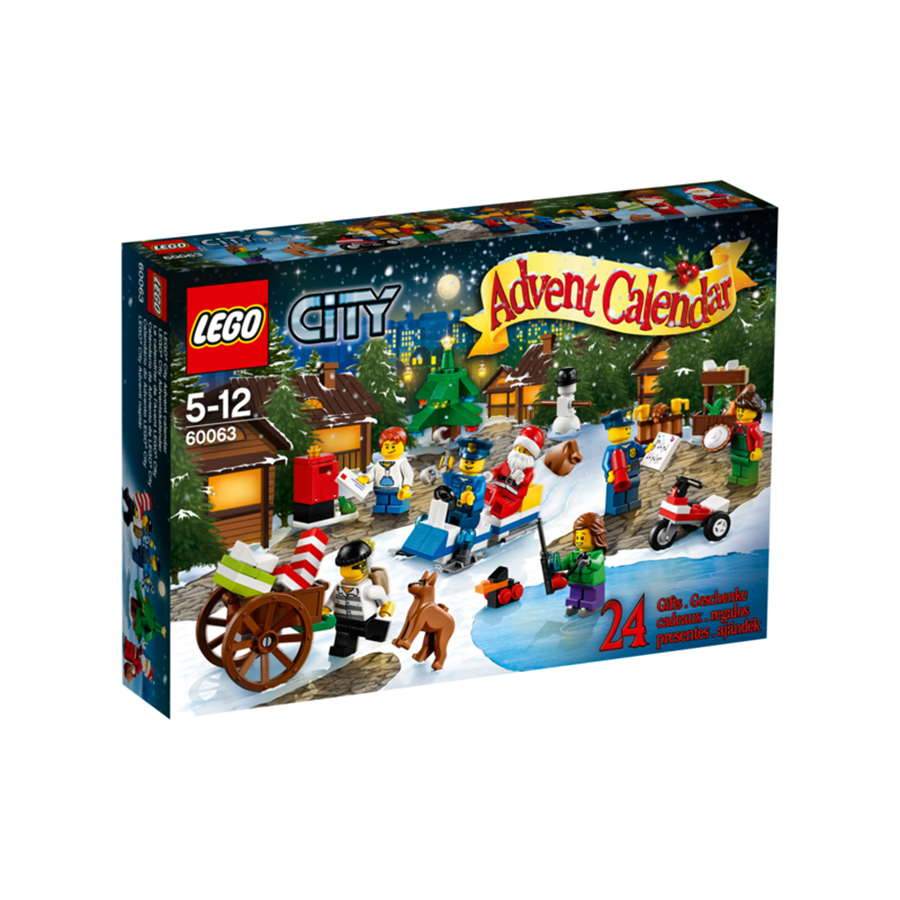 Lego City advent