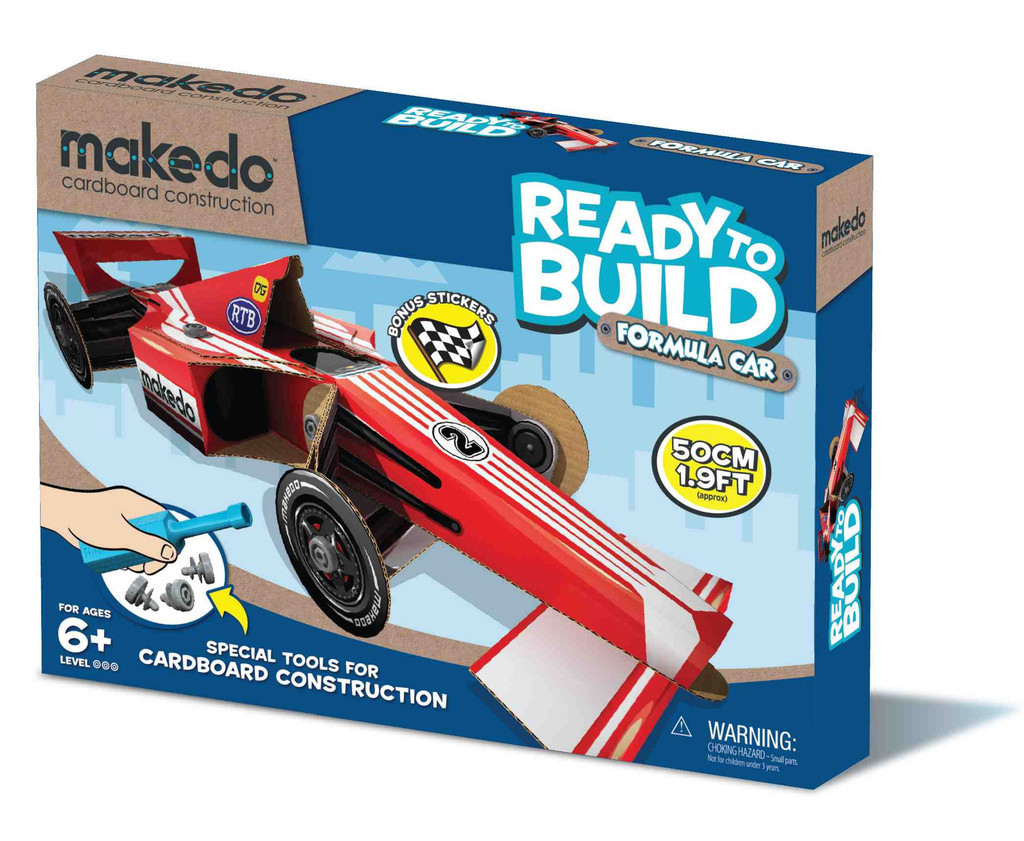 makedo box_formula_car