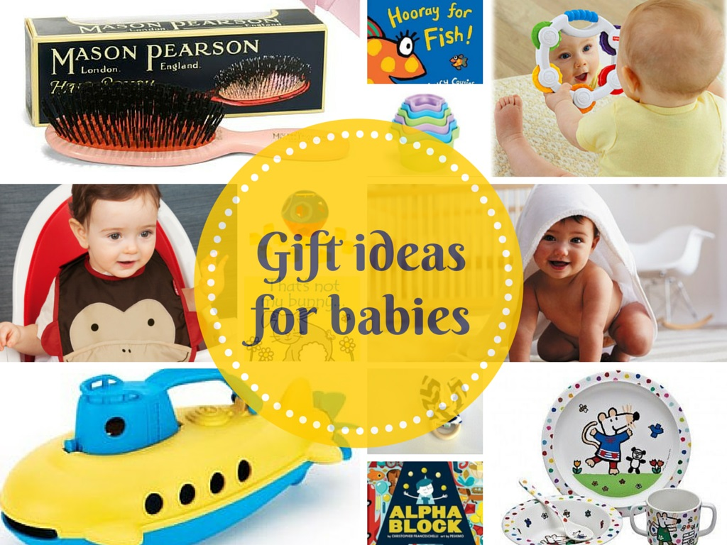 Gift ideas for babies cover jpeg