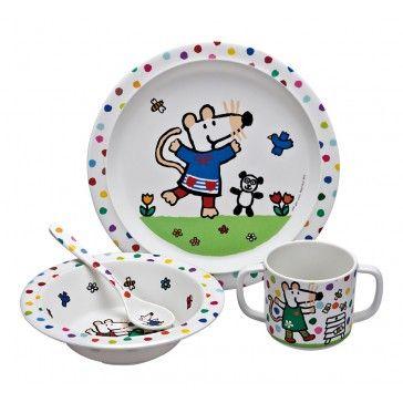 Maisy plate set