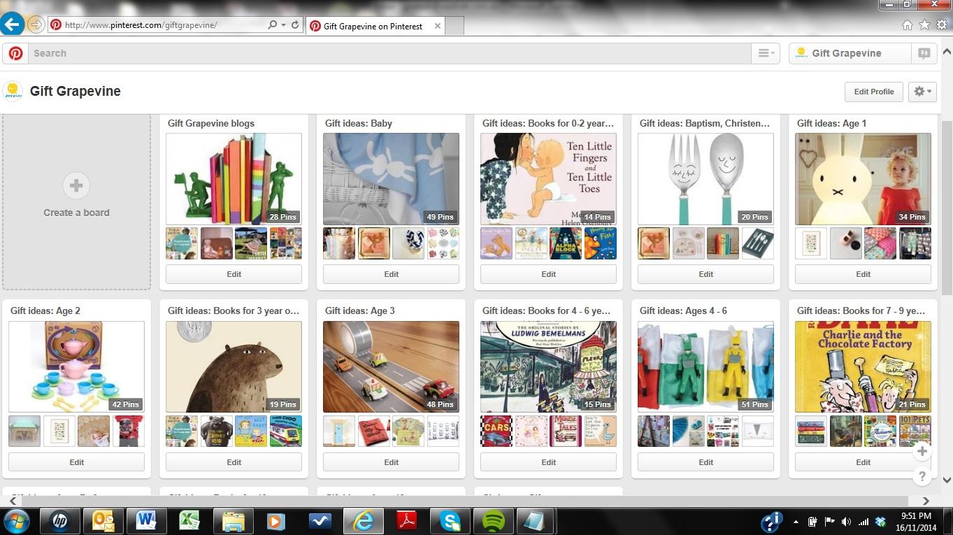 Pinterest boards 3