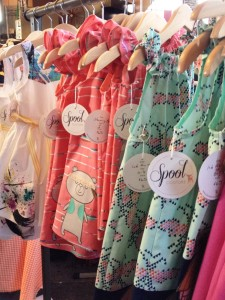 Spool dresses