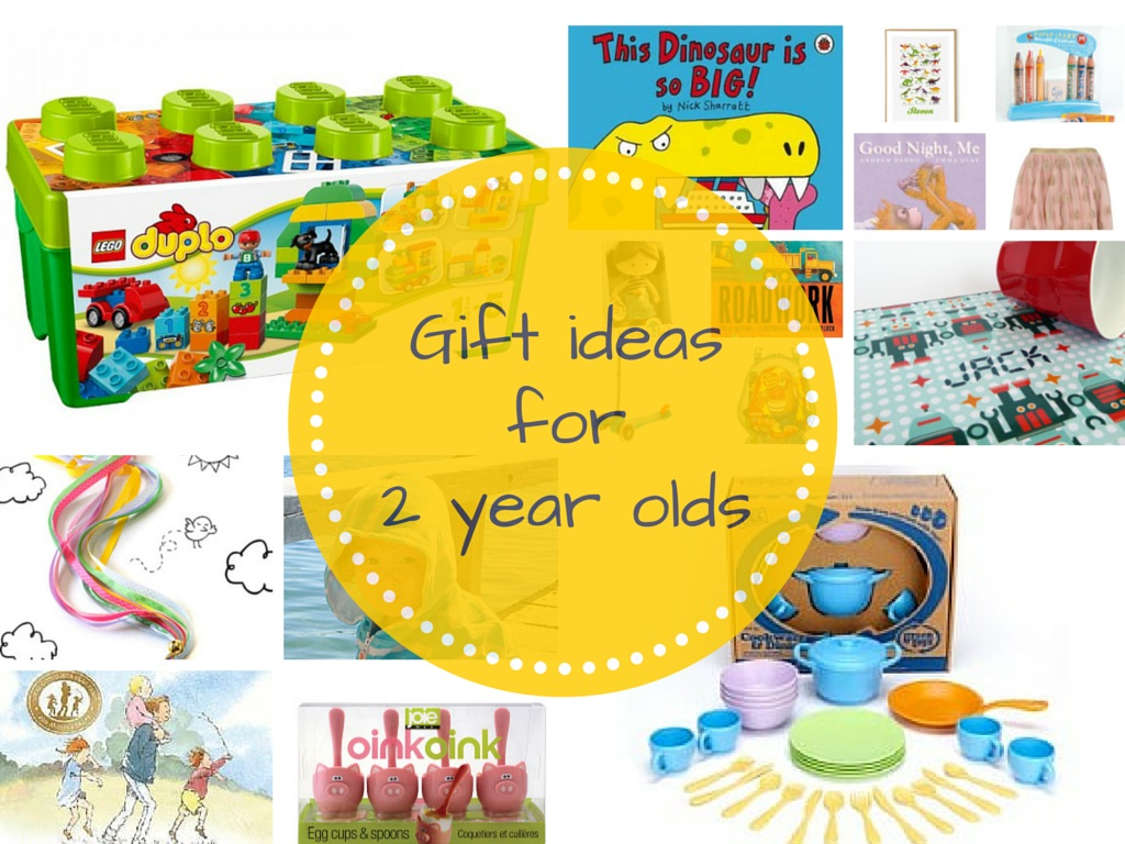 Gift Grapevine gift guides: Gift ideas for 2 year olds