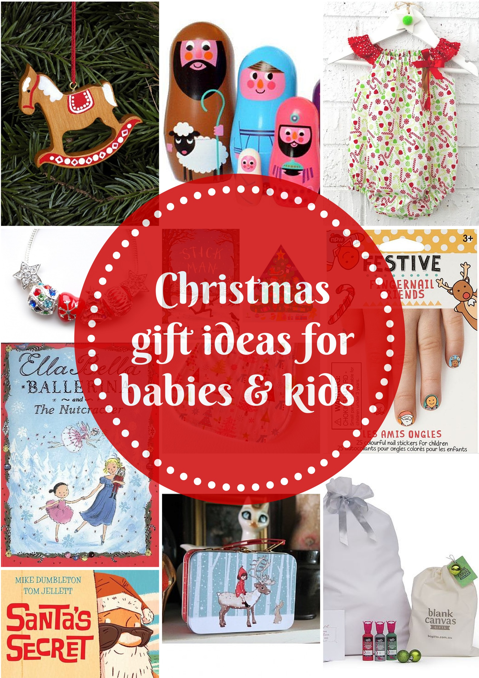 Gift Grapevine gift guides: Christmas gifts for babies and kids