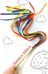 g2g rainbow ribbon - Gift ideas for 2 year olds - Gift Grapevine