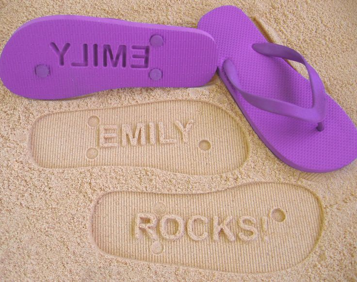 personalised thongs