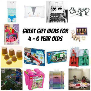 Gift ideas for 4 to 6 year olds - Gift Grapevine