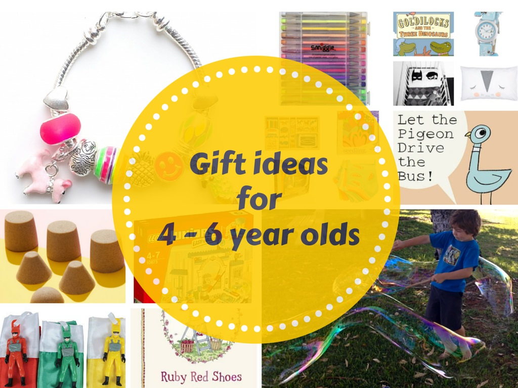 Gift Grapevine gift guides: Gift ideas for 4 – 6 year olds