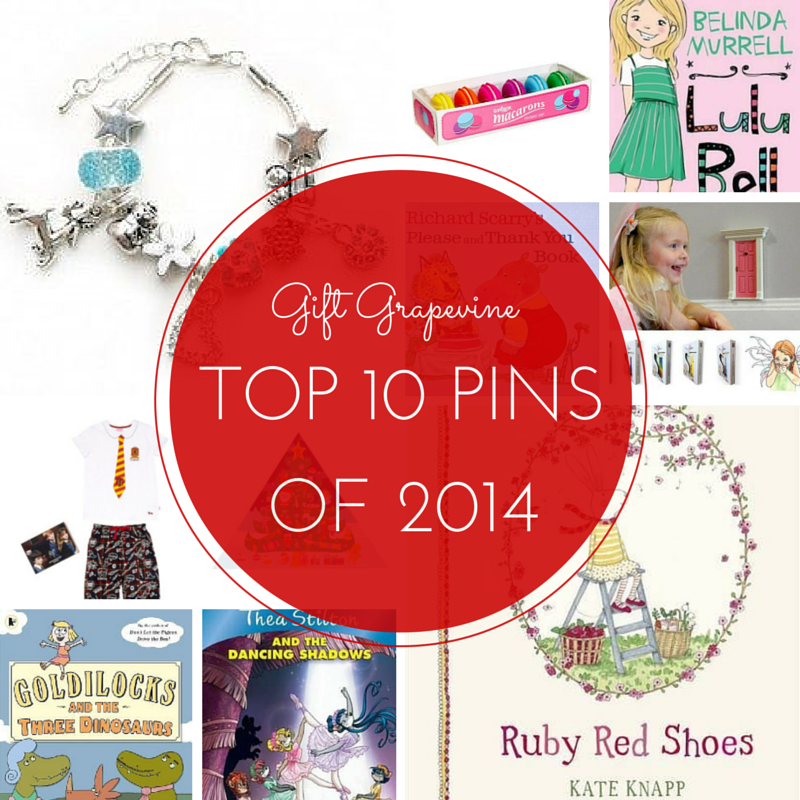 Gift Grapevine top 10 pins of 2014