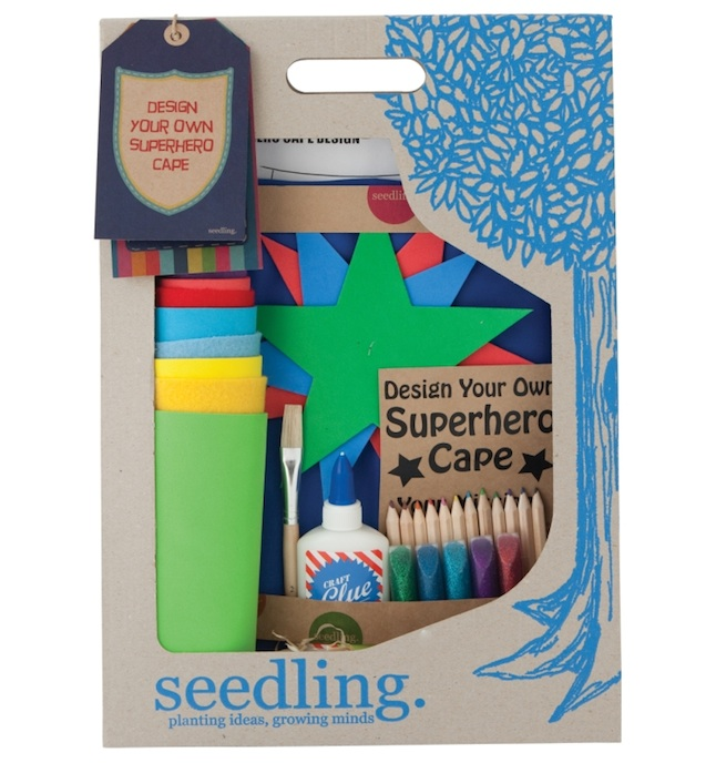 Seedling superhero cape