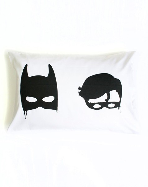 bat boys pillowcase