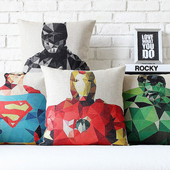 superhero cushions 2