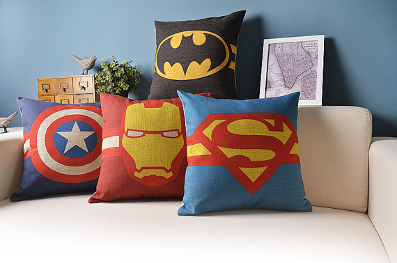 superhero cushions