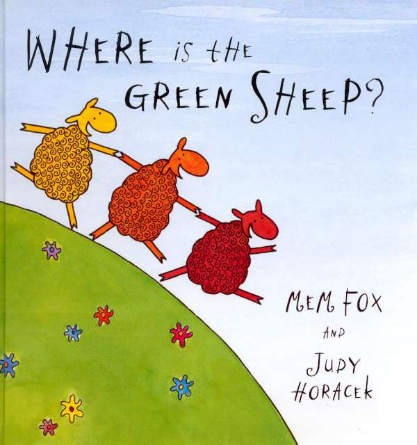 Think writing children's books is easy?  The story behind 'Where is the Green Sheep?'