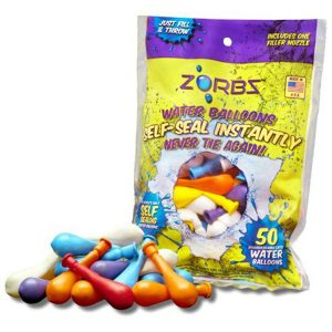 Zorbz self seal water balloons
