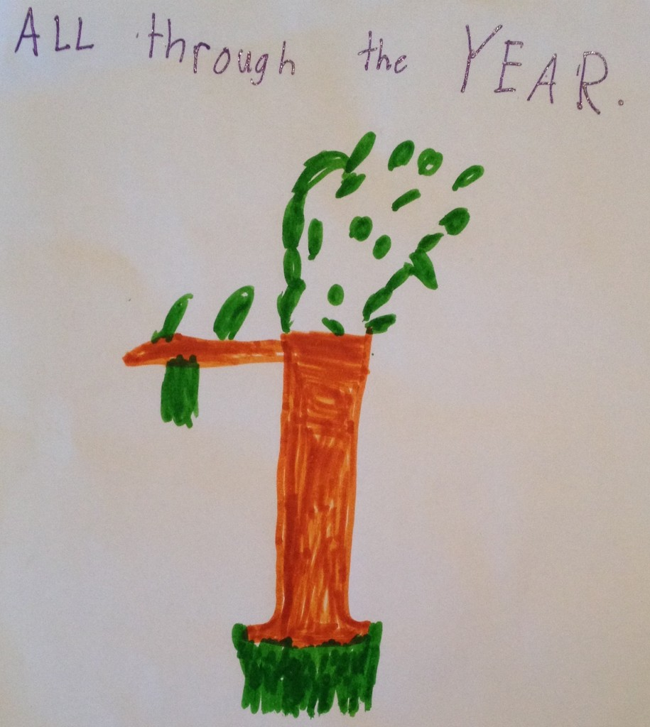 All Through The Year - Miss H drawing.jpeg