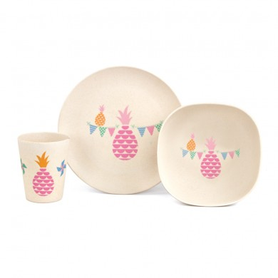 Penny Scallan bamboo mealtime set