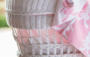 bunny blanket pink