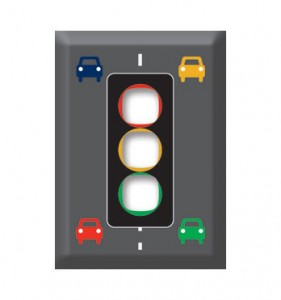 light switch cover traffic