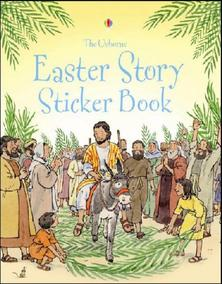 usborne easter story sticker book