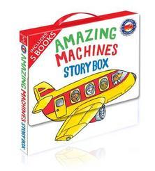 Amazing Machines story box - 5 books
