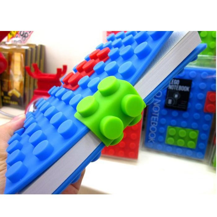 Building Blocks notebook - LEGO gift ideas - Gift Grapevine
