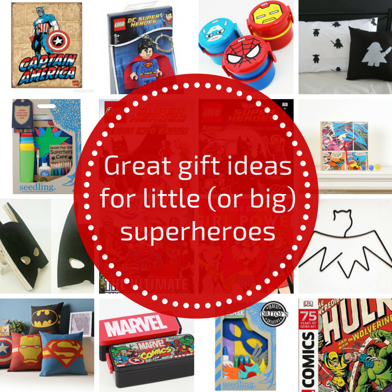Great gift ideas for little (or big) superheroes
