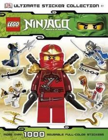 Lego Ninjago sticker book - LEGO gift ideas - Gift Grapevine
