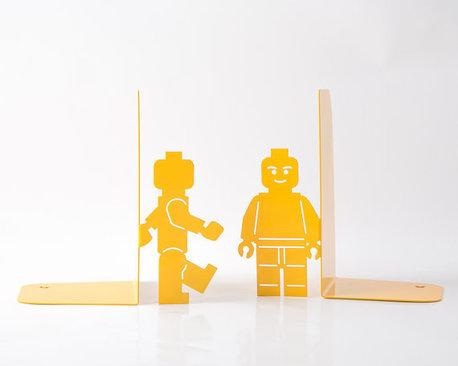 Legomen bookends - LEGO gift ideas - Gift Grapevine
