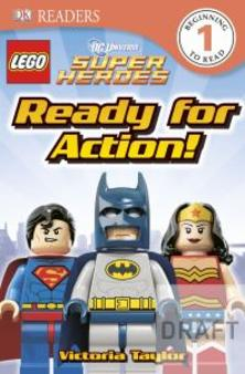 Ready for Action learn to read - LEGO gift ideas - Gift Grapevine